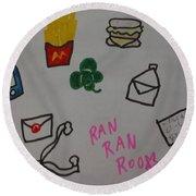 Ranranroo Round Beach Towel