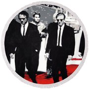 Reservoir Dogs Round Beach Towel