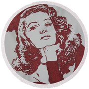 Rita Round Beach Towel