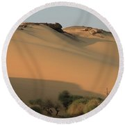 Sahara Round Beach Towel by Silvia Bruno