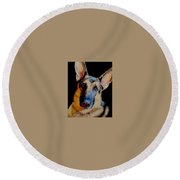 Seamus Round Beach Towel