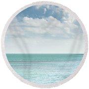 Seven Mile Fishing Round Beach Towel