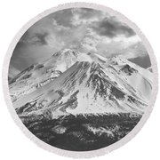 Shasta Round Beach Towel
