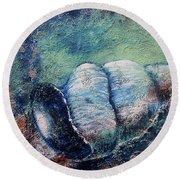 Shell Round Beach Towel