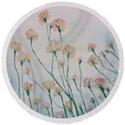 Soft Breeze Round Beach Towel