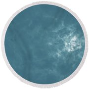 Solar Eclipse 12 Round Beach Towel
