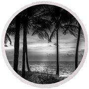 South Florida Round Beach Towel