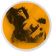 Space Ape Round Beach Towel
