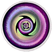 Spin Cycle Round Beach Towel