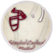 Stanford Cardinals Round Beach Towel