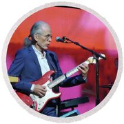Steve Howe From Yes Round Beach Towel
