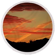 Sunrise Collection, #6 Round Beach Towel