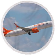 Sunwing Airlines Round Beach Towel
