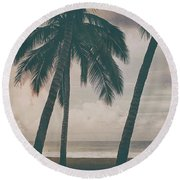 Surf Mates 2 Round Beach Towel