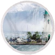 The Best Of Niagara Round Beach Towel