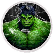 The Incredible Hulk Collection Round Beach Towel