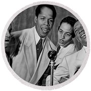 The Ink Spots Collection Round Beach Towel