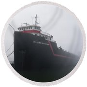 The Mather Round Beach Towel
