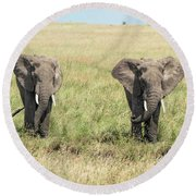 The Pair Round Beach Towel
