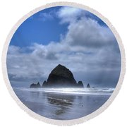 The Rock Round Beach Towel