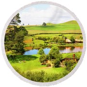 The Shire Round Beach Towel