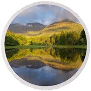 The Torren Lochan Round Beach Towel