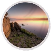 The Wall Round Beach Towel