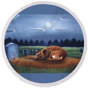 The Watchman Round Beach Towel
