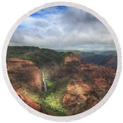 There Are Wonders Round Beach Towel by Laurie Search