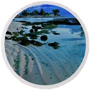 Tide Pool Round Beach Towel