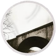 Tn Bridge Round Beach Towel