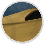 Tones Of Mesquite Round Beach Towel