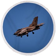 Tornado, 25 Years In Operation Round Beach Towel by Shirley Mitchell