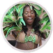 Toronto Caribbean Festiva Round Beach Towel