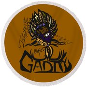 Tribe Of Gad Round Beach Towel