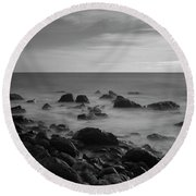 Ventnor Coast Round Beach Towel