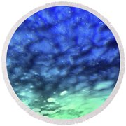 View 7 Round Beach Towel