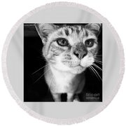 Who Me? Round Beach Towel