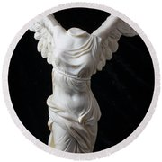 Winged Victory Round Beach Towel