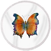1 Wizard Butterfly Round Beach Towel