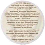 101-  Maya Angelou Round Beach Towel