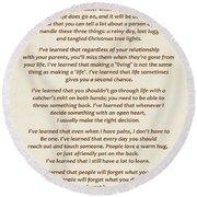 101-  Maya Angelou Round Beach Towel by Joseph Keane