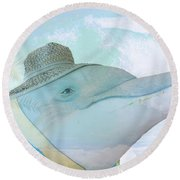 10732 Flipper Round Beach Towel