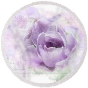 10947 Tulip Round Beach Towel