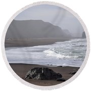 Irish Beach Round Beach Towel