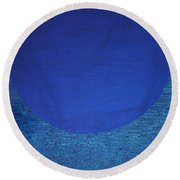 Perfect Existence Round Beach Towel by Kyung Hee Hogg