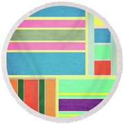 118 Round Beach Towel