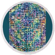 12-offspring While I Was On The Path To Perfection 12 Round Beach Towel