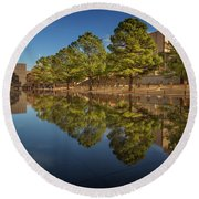 Okc Memorial Iv Round Beach Towel