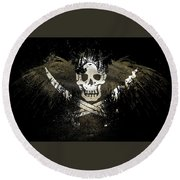 12857 1 Other S Pirates Flag Round Beach Towel